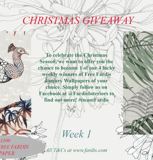 New #iwantFardis Christmas Giveaway
